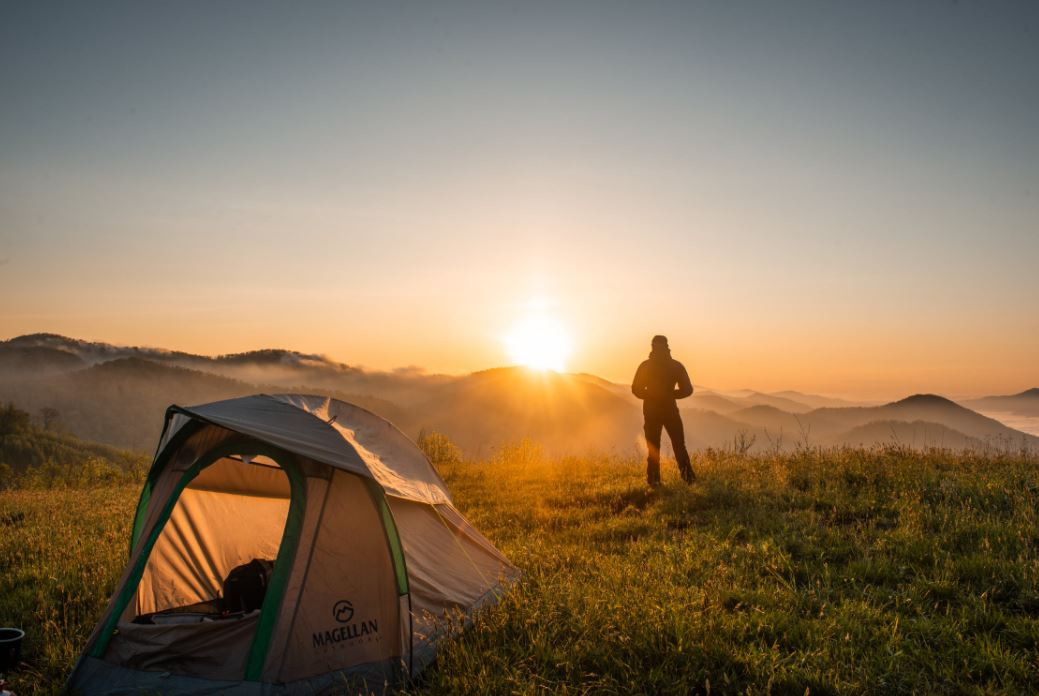 Genügend Platz beim Campen