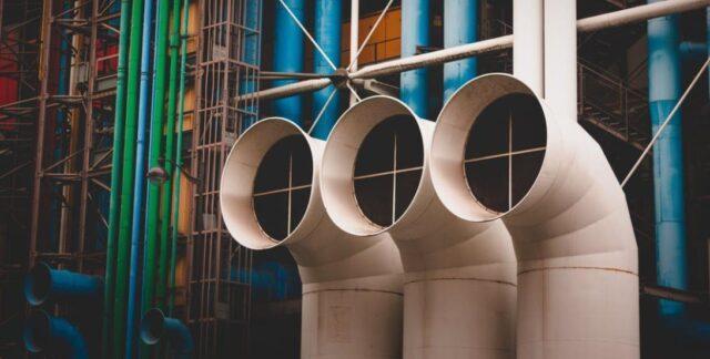 Absauganlage für Industriebetriebe